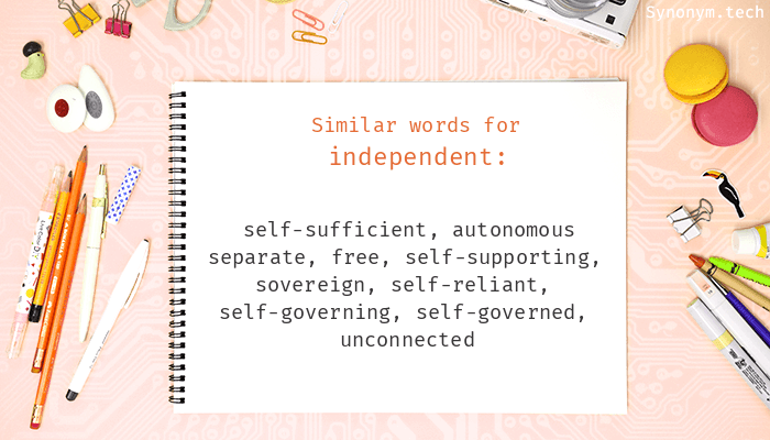 Independent Synonyms
