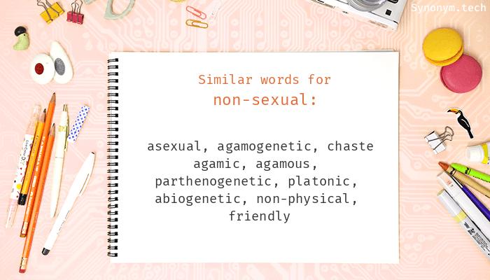 non sexual synonym