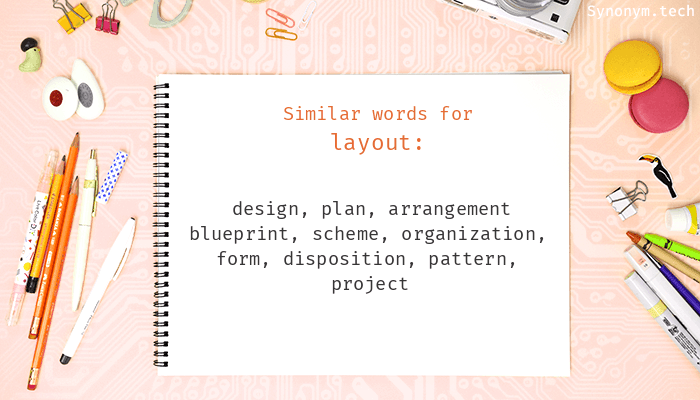 Layout Synonyms Similar Word For Layout