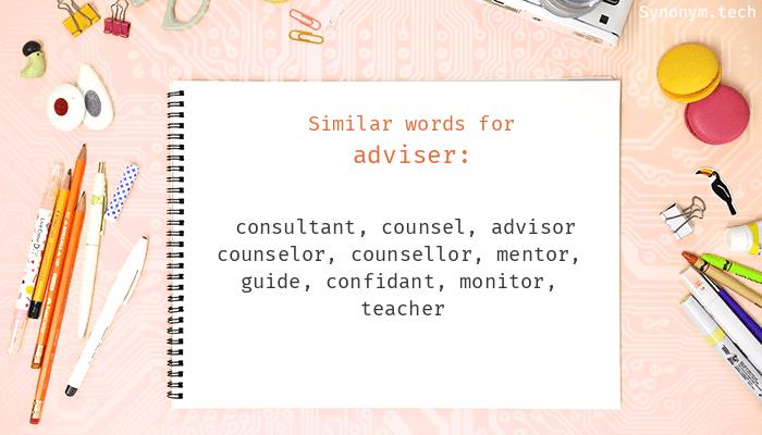 Adviser Synonyms