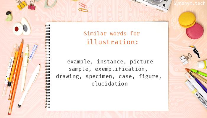 Illustration Synonyms