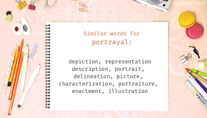Portrayal Synonyms