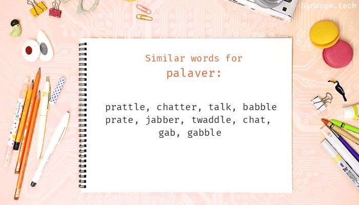 Palaver Synonyms