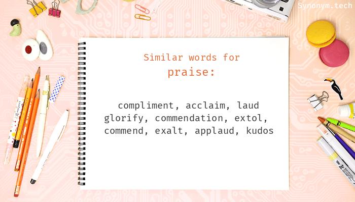 Praise Synonyms