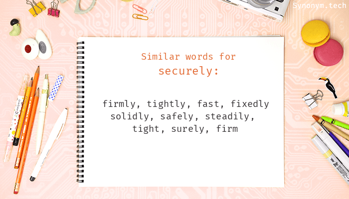 Securely Synonyms