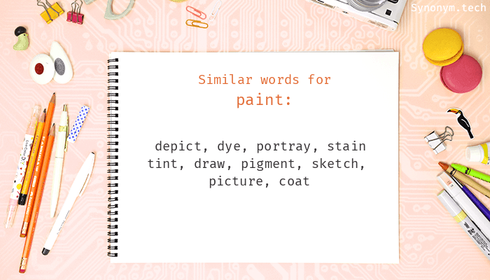 Paint Synonyms