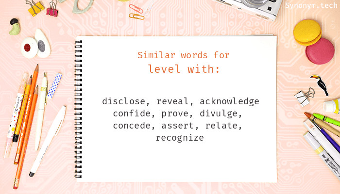 Level with Synonyms