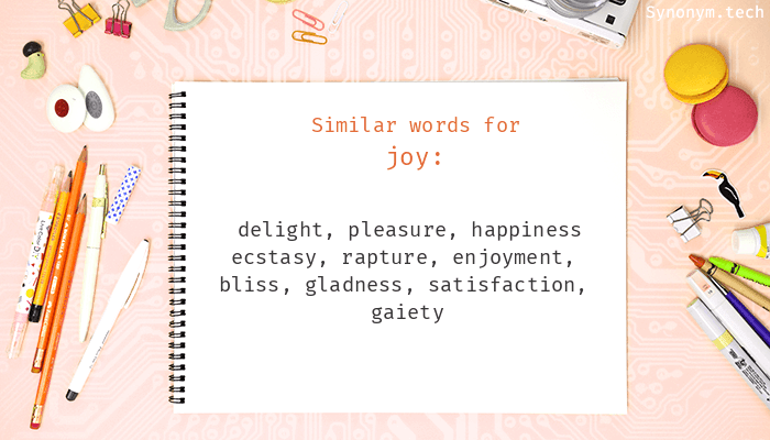 Synonyms for Joy