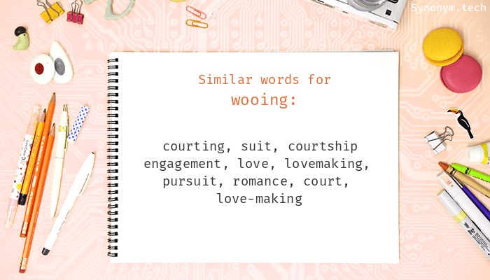 Synonyms for courtship