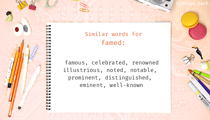 Famed Synonyms