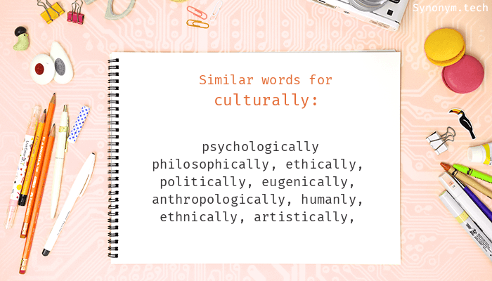 Culturally Synonyms
