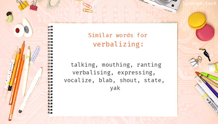 Verbalizing Synonyms