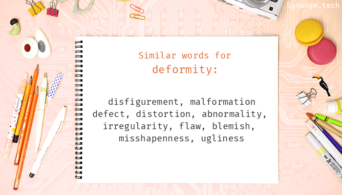 Deformity Synonyms