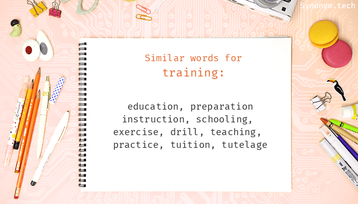 Synonyms for Training