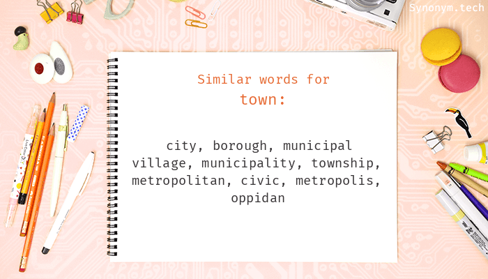 Town Synonyms