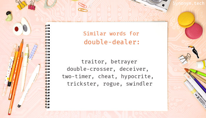 Double-dealer Synonyms