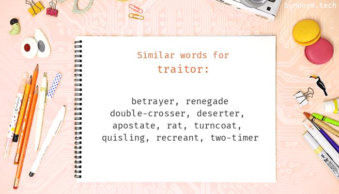 Traitor Synonyms