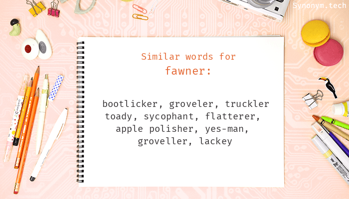 Fawner Synonyms