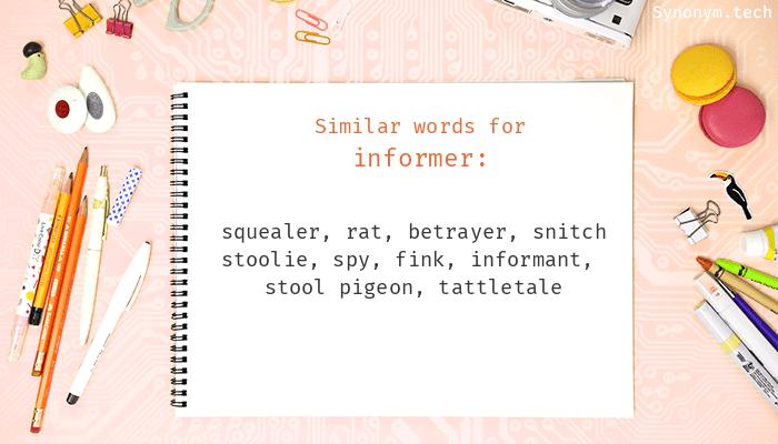 Informer Synonyms