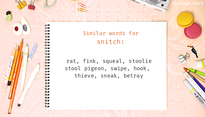 Snitch Synonyms