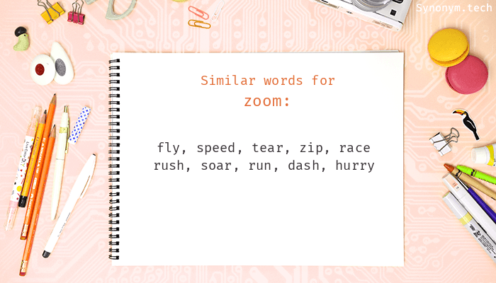 Zoom Synonyms