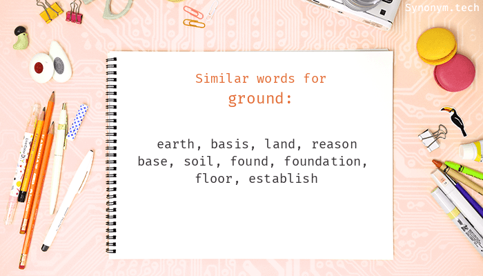 Ground Synonyms