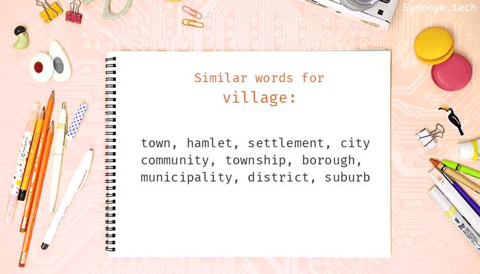 Village Synonyms