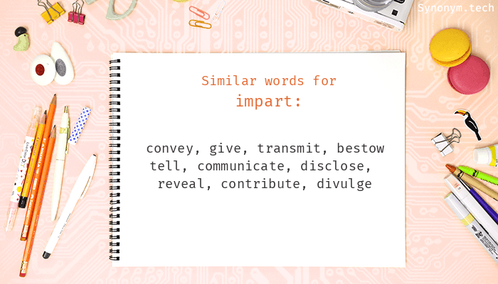 Impart Synonyms