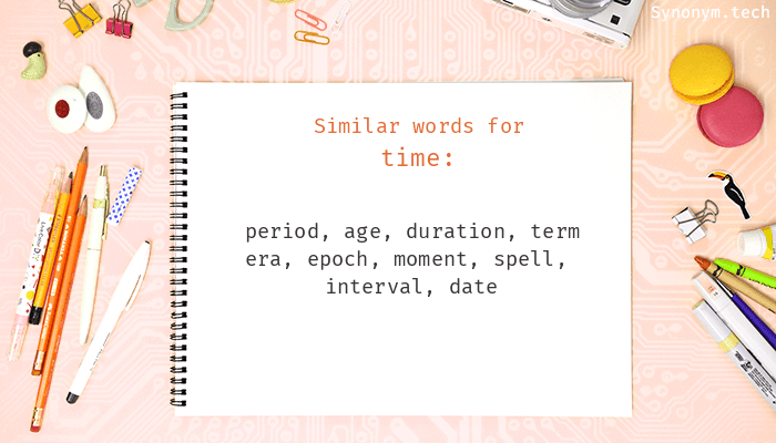 Time Synonyms