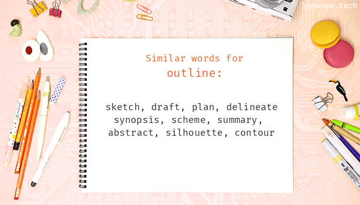 Outline Synonyms