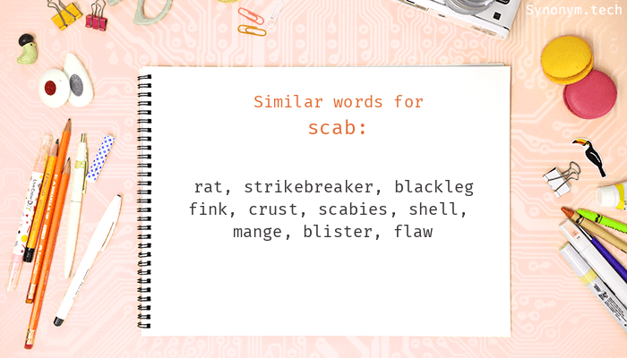 Scab Synonyms