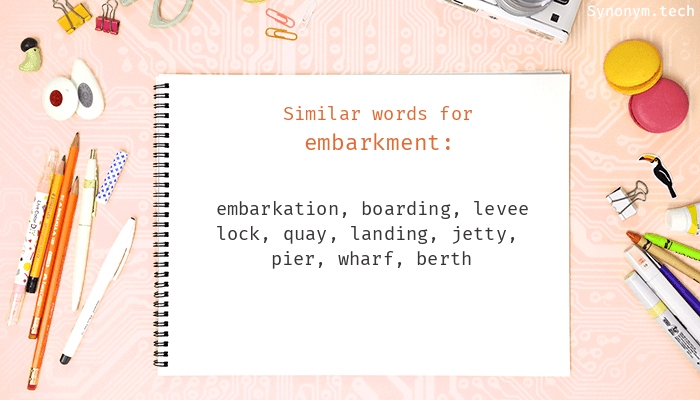 Embarkment Synonyms That Belongs To Phrasal Verbs