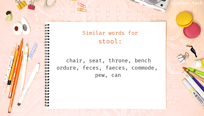 Stool Synonyms