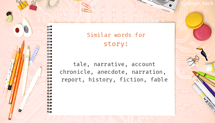 Story Synonyms