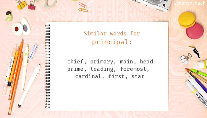 Principal Synonyms