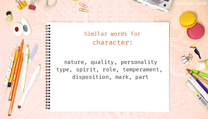 Character Synonyms