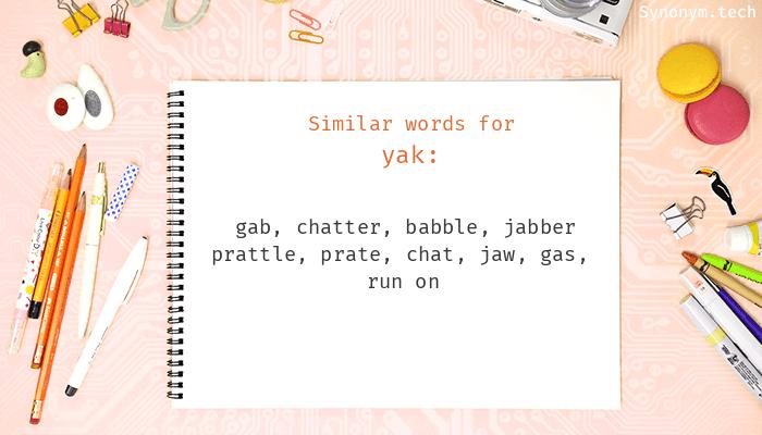 Yak Synonyms