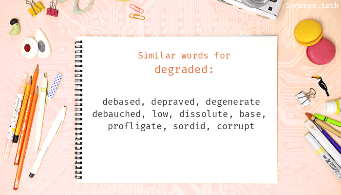 Degraded Synonyms
