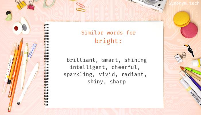 Bright Synonyms
