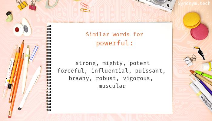 Powerful Synonyms