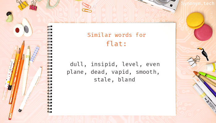Flat Synonyms