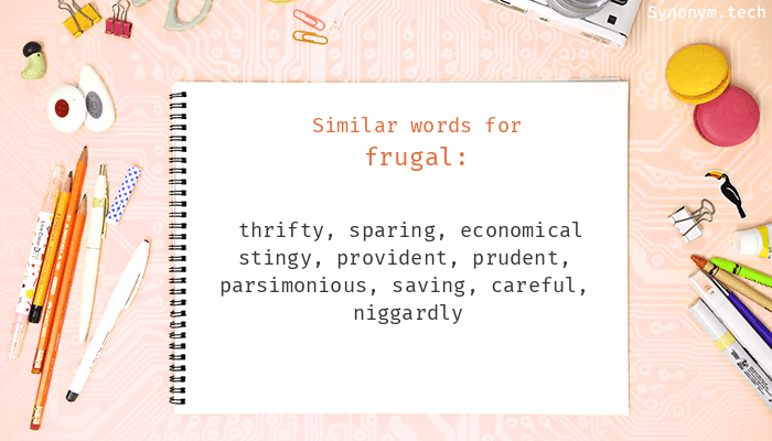 Synonyms for Frugal
