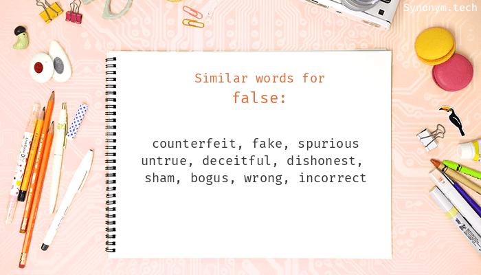 False Synonyms