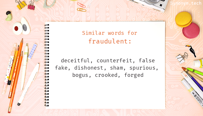 Fraudulent Synonyms