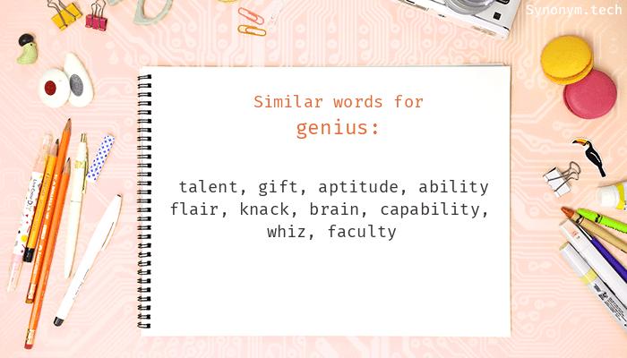 Genius Synonyms