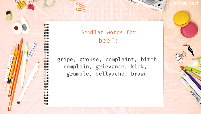 Beef Synonyms