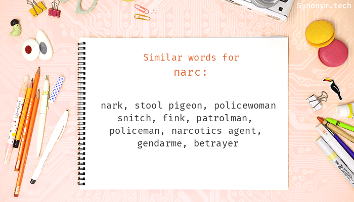 Narc Synonyms