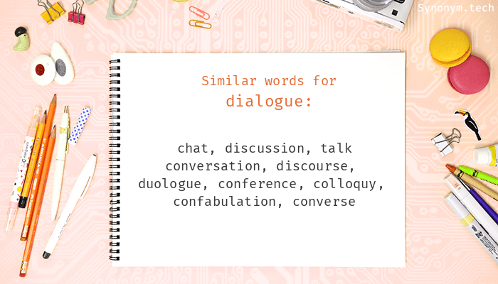 Dialogue Synonyms