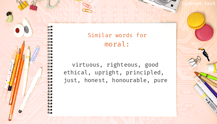 Moral Synonyms