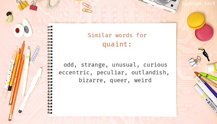 Quaint Synonyms